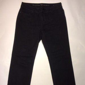 Simply Vera Vera Wang Black Straight Leg Jean